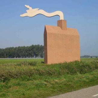 1993 Monument 1 'ketelhuisje' NOP