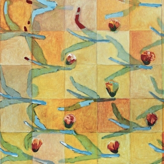 1991/97 waterlillies oil on canvas 130/175cm