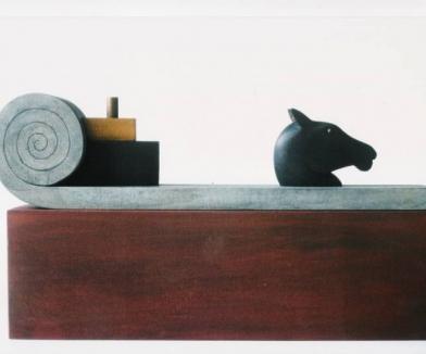 1996 maquette beeld Oldenzaal