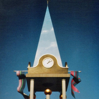 1985 toren Helmerzijde detail