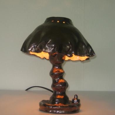2011tafellamp1 keramiek h 24cm