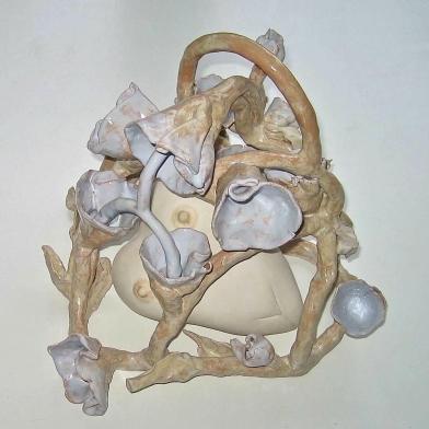 2010 bloemenkrans met hart 40cm