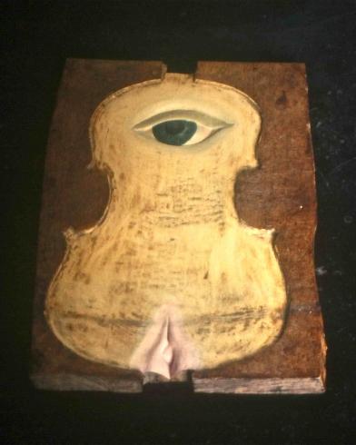 1998 'legacy' bewerkt vioolblad ahorn