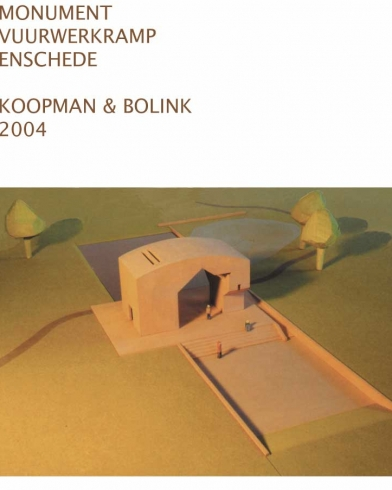 2004 maquette Monument Vuurwerkramp 2