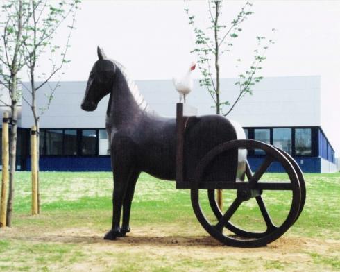 1993 'paard-en-wagen' Gezondheiddienst voor Dieren' Deventer
