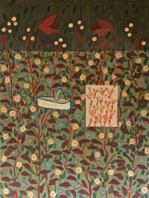 1991/97 daydream oil on canvas 130/175cm