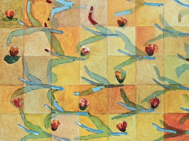 1991/97 waterlillies oil on canvas 130/175cm